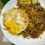 Local Mixed  Fried Noodles