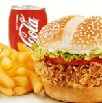 Bumaru ( Crispy Chicken Burger )  COMBO