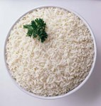 Plain Basmathi Rice Portion